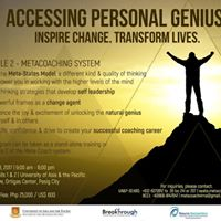 Accessing Personal Genius (APG)