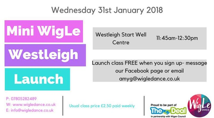 Mini WigLe Westleigh Launch