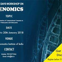 Genomics  Two Days Workshop