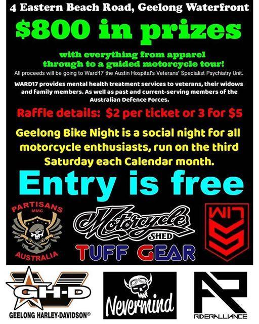 Geelong Bike Night - April 2019