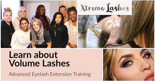 Xtreme Lashes | Volume Eyelash Extension Training at Atelier