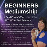 Beginners Medium Workshop - Leanne Winston