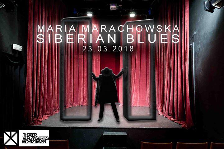 """concert """"siberian blues"""" 2018 at theater verlängertes wohnzimmer, Wohnzimmer"""