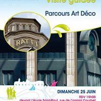 Visite guide &quotparcours Art Dco&quot