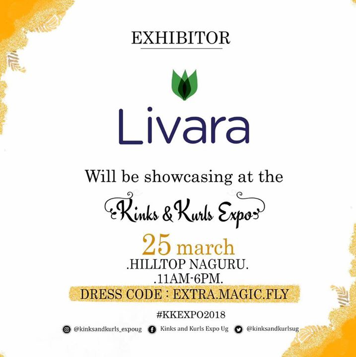 Livara at the Kinks and Kurls Expo 2018! | Kampala