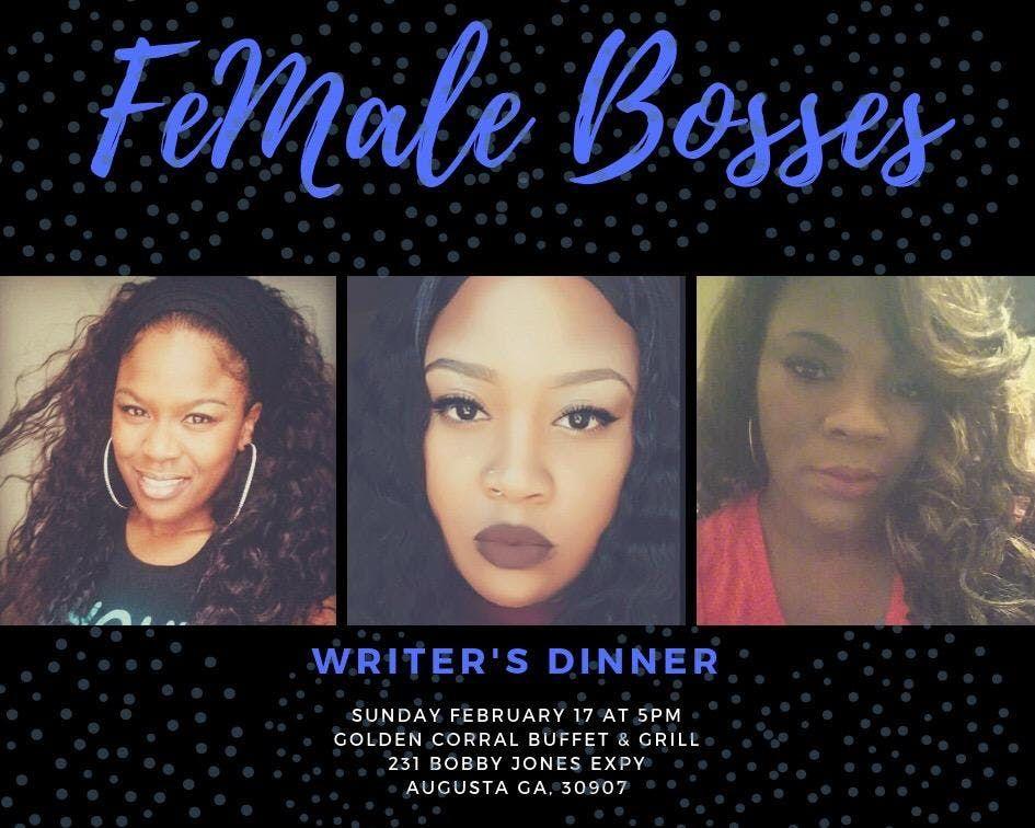 Female Bosses Writers Dinner