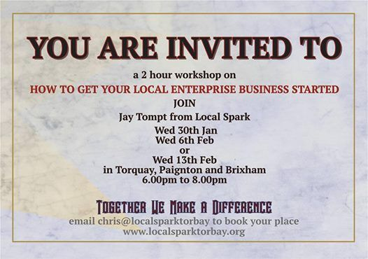 How to start your own local enterprise - Torquay