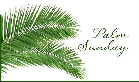 (Palm Sunday)