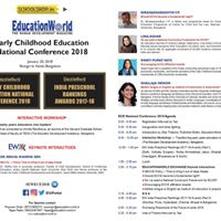 EW Early Childhood Education National Conference 2017-18