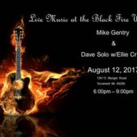 Black Fire Winery Presents Mike Gentry &amp Dave SoloEllie Cruze