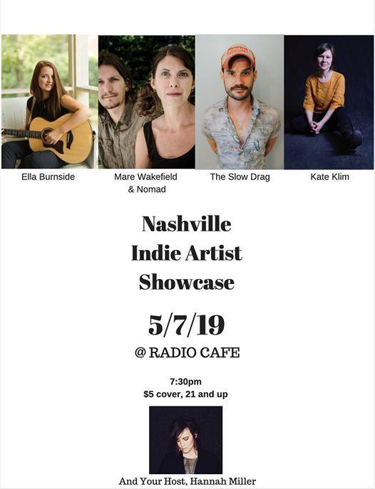 Nashville Indie Artist Showcase at Radio Cafe, Tennessee