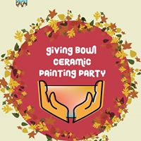 Giving Bowl Ceramic painting Party