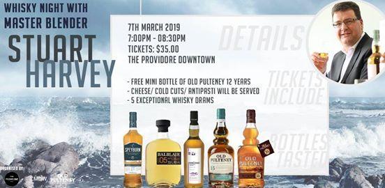Whisky Night with Master blender Stuart Harvey