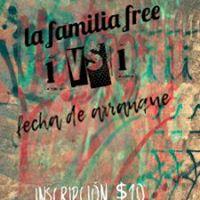 La Familia Free (1vs1)fecha De Arranque 17