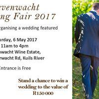 Zevenwacht Wedding Fair 2017