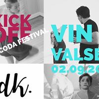 Vin&ampValsen med Kick Off for CODA festivalen