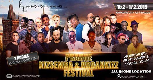 Prague KizSemba & UrbanKizz Festival 2019 official