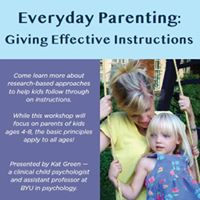 Everyday Parenting Giving Effective Instructions