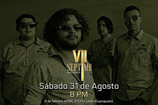 Eme En Vivo Séptimo Bar Terraza León Valle De Santiago