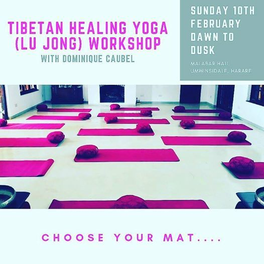 Tibetan Healing Yoga (Lu Jong) Workshop