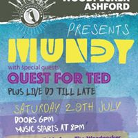 Mundy and Band at the WoodpeckerAshford.