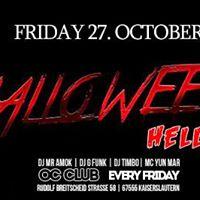 Oc Club Halloween Hellraiser - Fri. 27 Oct. - Ladies Night