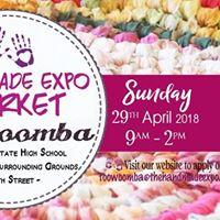 Toowoomba The Handmade Expo Market - 29 April 2018