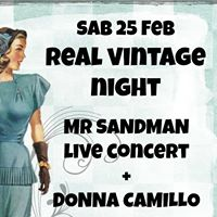 Real Vintage Night w Mr Sandman  Donna Camillo &amp Marco Tealdi