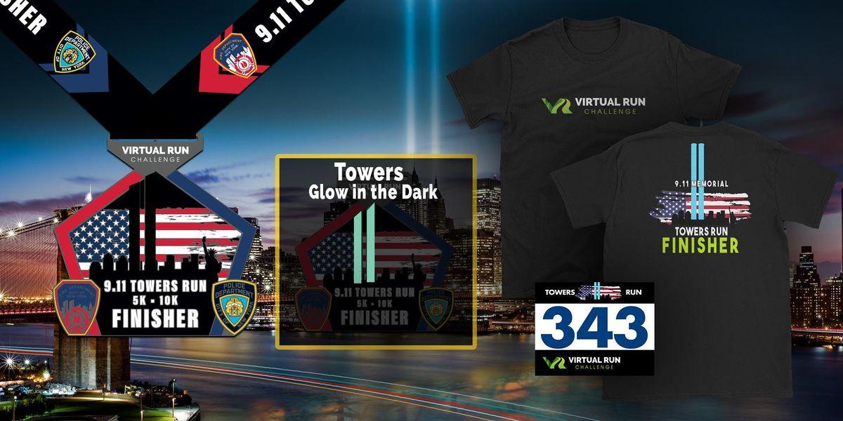 2019 - September 11th Memorial Towers Virtual Run Walk - Charlotte