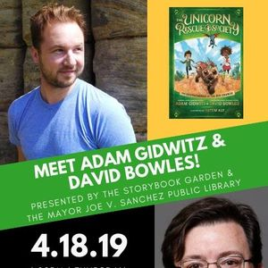 Meet Adam Gidwitz &amp David Bowles
