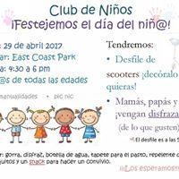 Club de Nios Celebracin del da del nio