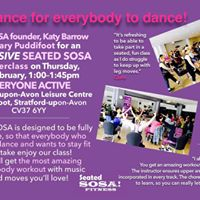 Seated SOSA Dance Fitness Taster Class
