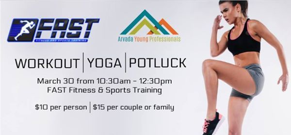 AYP Social Event Group Workout and Potluck