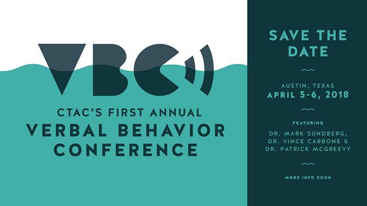 Verbal Behavior Conference
