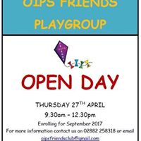 Omagh Integrated Friend Playgroup Open Day