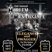 2nd Annual Harlem Renaissance - Elegance And Swagger On The Dance Floor