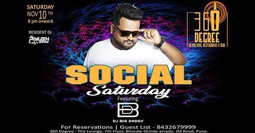 Social Saturday featuring DJ Big Daddy