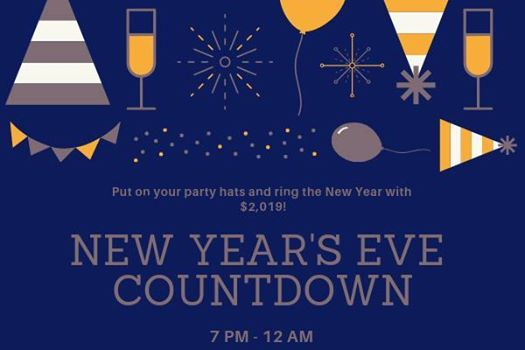 New Years Eve Countdown Party