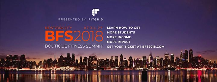 Boutique Fitness Summit 2018