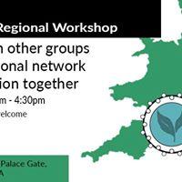 Transition Regional Networks Workshop covering South West of Eng