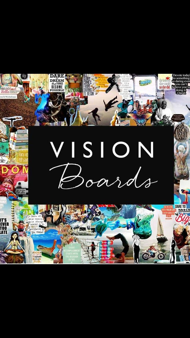 Lu & Tams Couples Vision Board Party