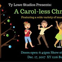 A Carol-less Christmas Cabaret Show