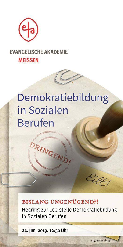 Bislang ungengend Demokratiebildung in Sozialen Berufen