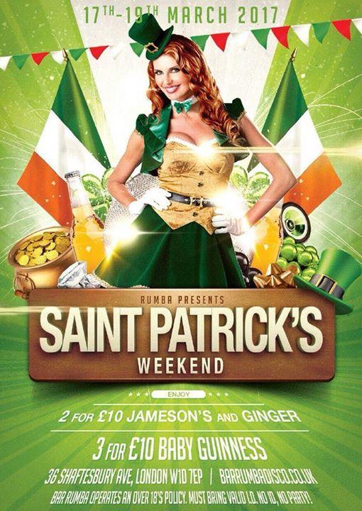 Saint Patricks Weekender