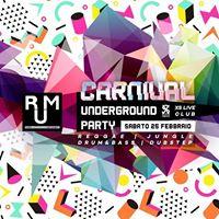 RUM Carnival Underground Party - ReggaeJungleDrum&ampBassDubstep