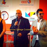 American College Cricket USA vs Canada Series VI
