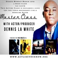 March Acting Class