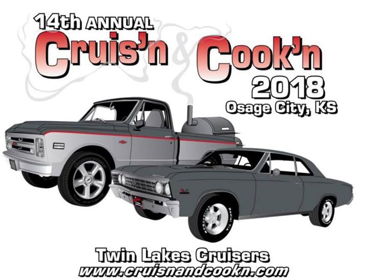 Twin Lakes Cruisers At Branine Chevrolet Buick Osage City - Osage city ks car show