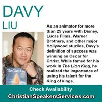Prayer Breakfast - Speaker Davy Liu