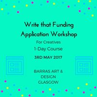 Write That Funding Application Course